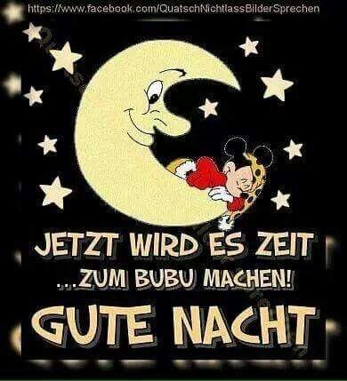 lustige sprueche gute nacht