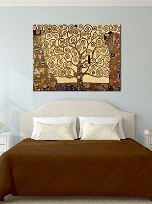 Tele d'autore by MANIFATTURE COTONIERE Pannello Decorativo Klimt -Albero Della…