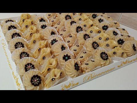 حلويات العيد بنصف كيلو كاوكاو وبدون مرشم حضري بلاطو من حلويات اللوز Youtube Biscuits Desserts Food