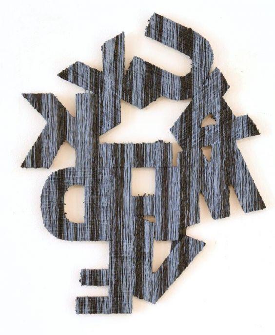 São Mamede - Galeria de Arte  JOH Sem Titulo 164) 10 2015 Técnica mista x Madeira 62 cm x 52 cm