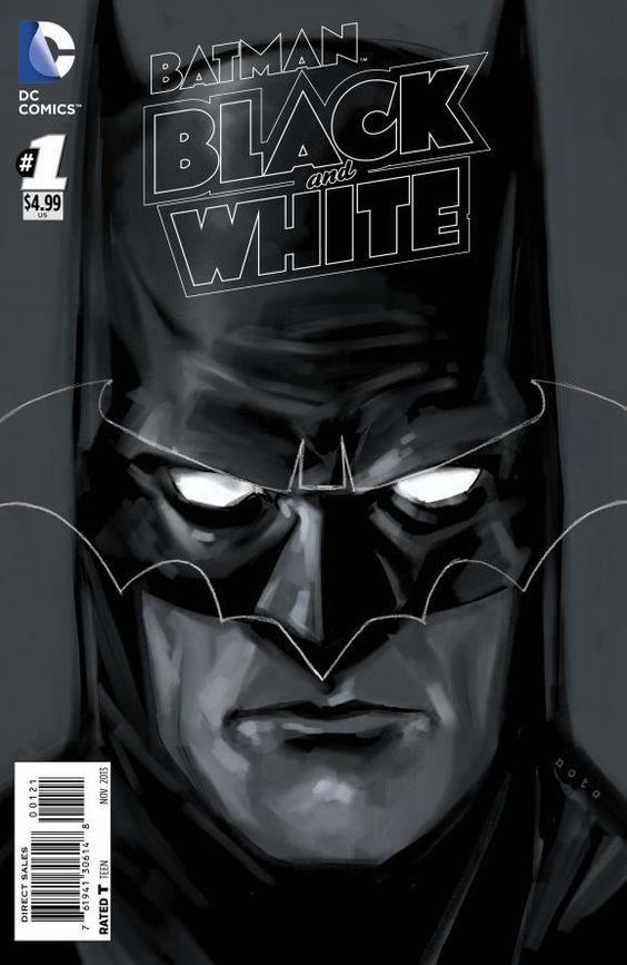Batman-Black-and-White | Galeria | Omelete