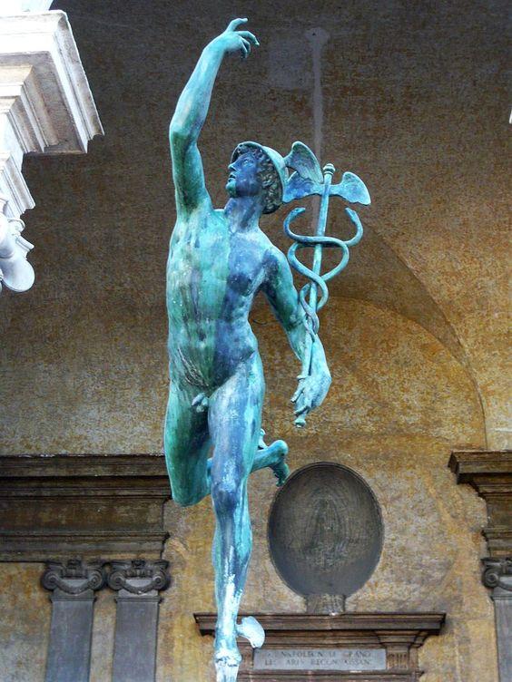 Mercure - Villa Medicis, Rome.