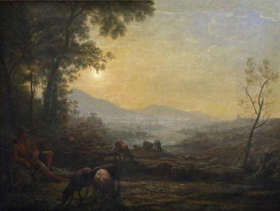 Follower Of Claude Lorrain - The Herdsman