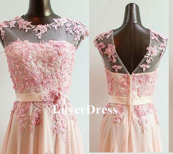 Ballkleid Koralle Perle Rosa Ballkleid Prom von LoverDress auf Etsy -zart-elegant,total schöner schnitt