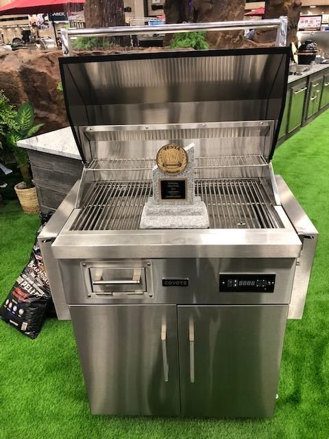 Coyote Welcomes The Newest Vesta Award Winning Grill Member To Our Family The Pellet Grill Available In Mid May The Outdoor Living Outdoor Instagram Photo