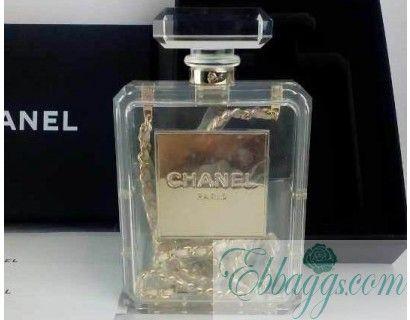 yves saint laurent handbags outlet - Chanel No.5 Perfume clutch bag replica | ebbaaggs | Pinterest ...