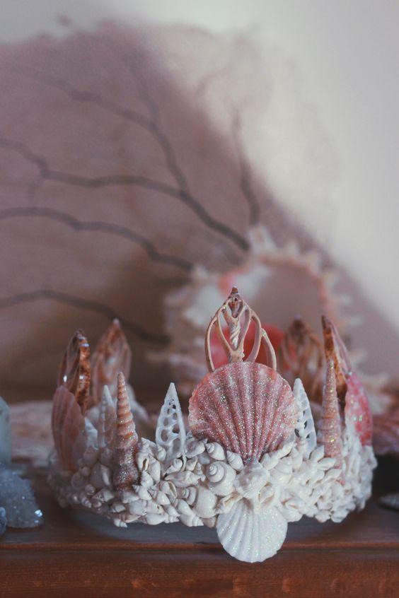 Crescent Mermaid Crown: