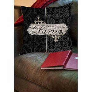 Thumbprintz Paris Envelope Indoor Pillow 20x20 At Walmart $34