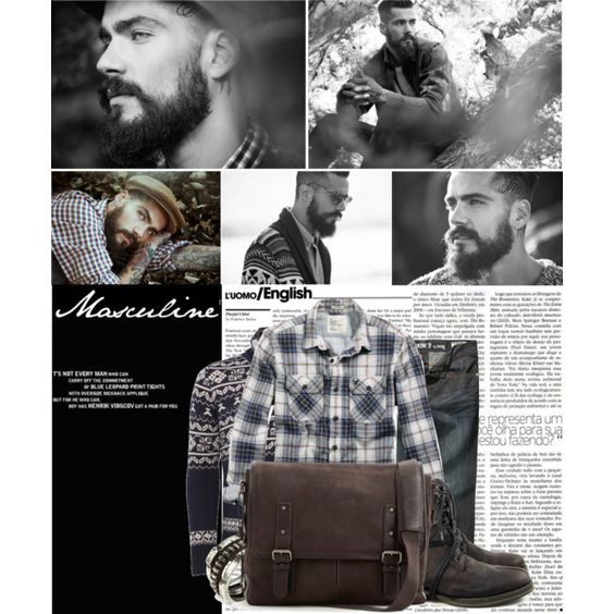 Masculine, created by dorc on Polyvore