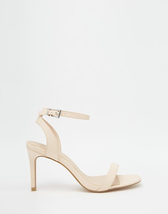 ASOS, Heeled sandals and Fit on Pinterest