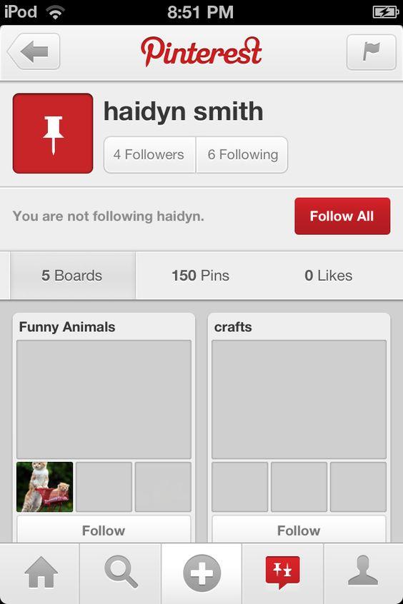 DON'T FOLLOW haidyn smith!!!