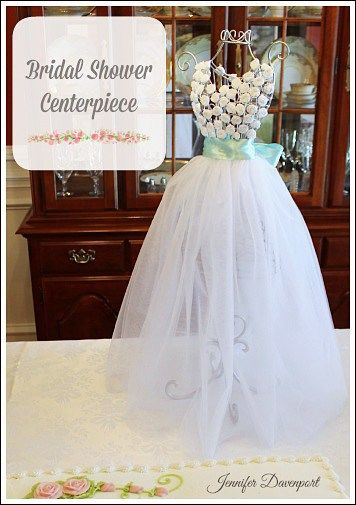 Bridal shower centerpiece ideas for your special bride to