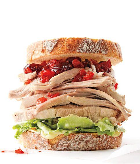 15 Best-Ever Leftover Turkey Sandwiches
