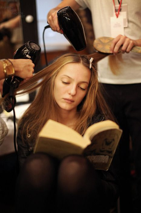 En la peluquería...