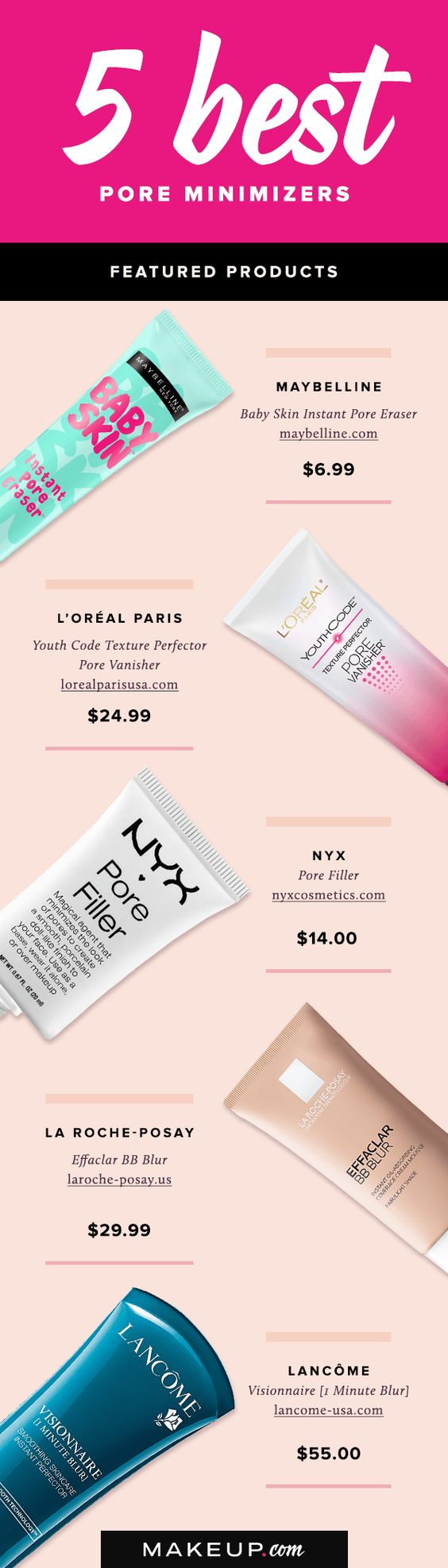 Nothing disrupts a flawless complexion more than large pores. If you want your skin to look smooth and your makeup to look its best, you'll want to add these beauty products to all of your makeup routines.