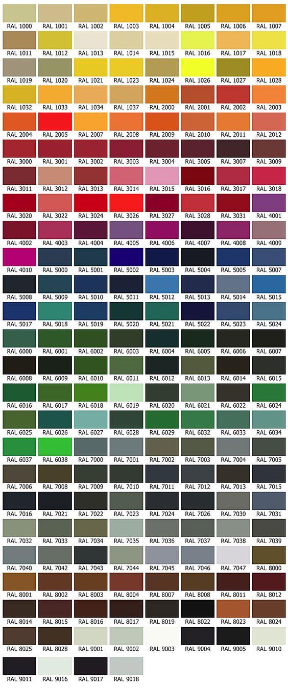 ral farben farbkombinationen pinterest. Black Bedroom Furniture Sets. Home Design Ideas