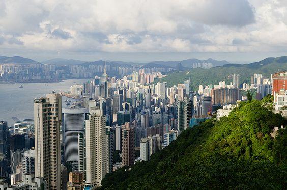 Victoria Peak, Hong Kong, China.