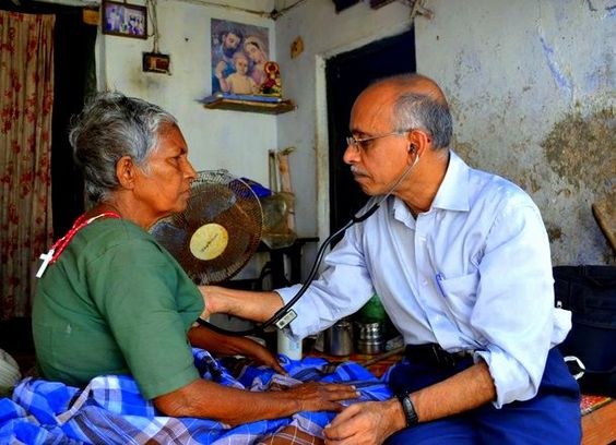 """Dr. Rajagopal, CFHI Trivandrum Medical Director, is known as the """"Father of Palliative Care"""" in India. He has been featured in the New York Times and New England Journal of Medicine, and is known throughout the world for his contributions to the field of #PalliativeCare"""