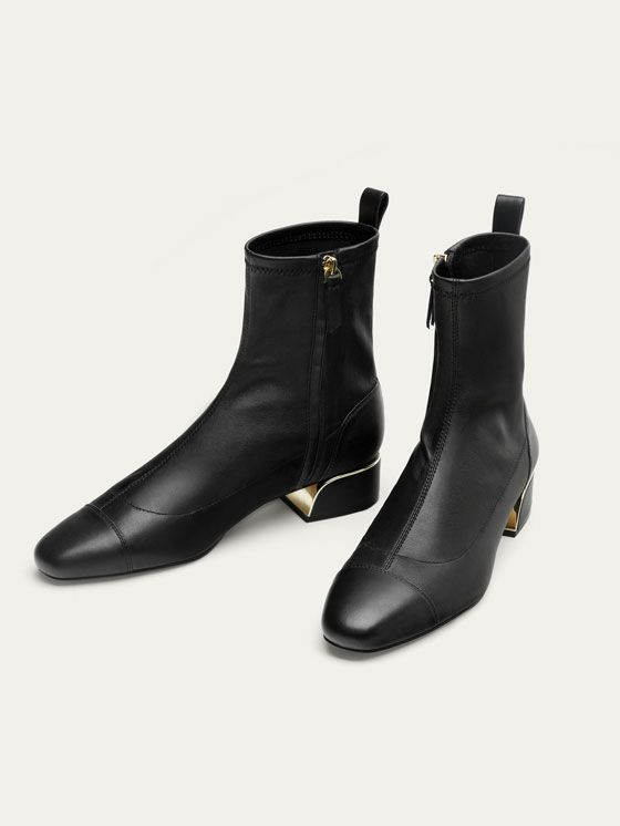 Fall ANKLE at BLACK NAPPA Winter LEATHER 2017 Women´s BOOTS WIe2YDEH9