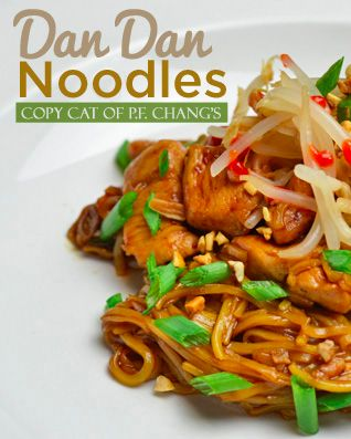 Copycat PF Chang's recipe!!!  Awesome and easy Dan Dan Noodle Recipe!  It's so good you'll think it's takeout!!