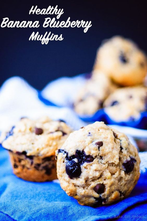 tops bars muffins and more breakfast muffins healthy blueberries ...