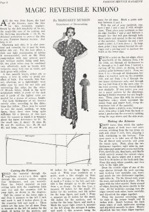Sewing Vintage: The Magic Reversible Kimono free pattern by TexasTumbleweed