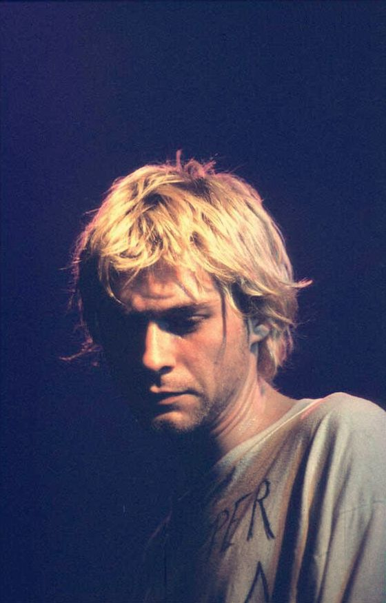 Kurt Cobain of nirvana. You're the king of my heart. Love you forever