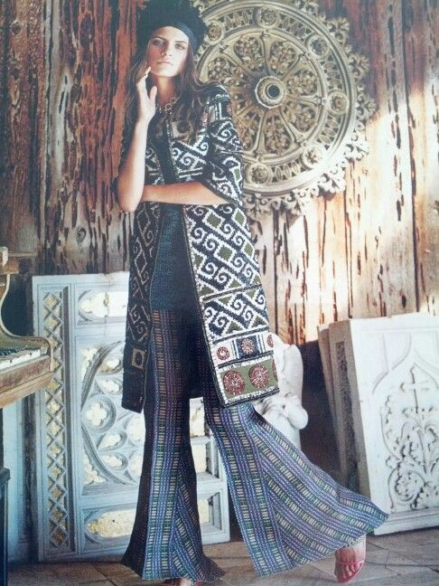 Incredible mix of texture, textile and style