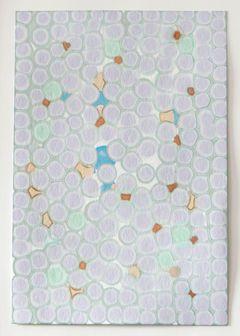 Nora Schattauer: Natron 35, 2015, 30 x 20 cm, mineralische Lösungen auf Chromatografie-Papier