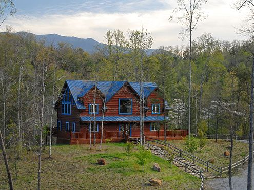 Blue mountain lodge 4 bedroom 4 bathroom cabin rental - 4 bedroom cabins in gatlinburg tn ...