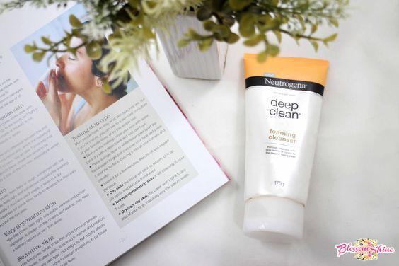 skincare empties ketiga, Neutrogena Deep Clean Foaming Cleanser