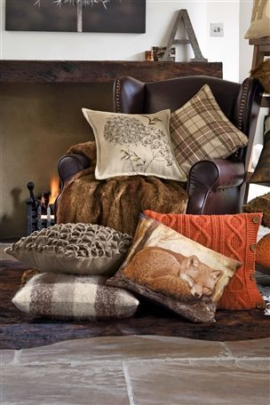 Buy Fox Tapestry Cushion from the Next UK online shop