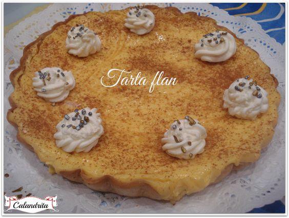 Tarta flan [Tradicional]