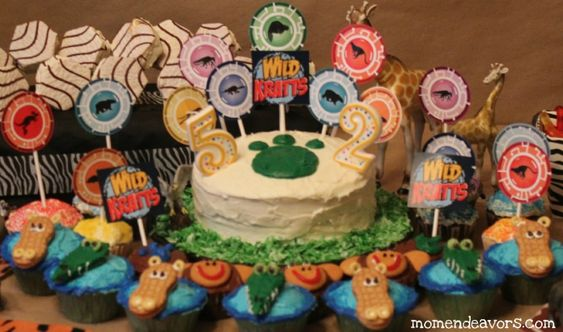 wild kratts birthday party ideas...i see this in my future...