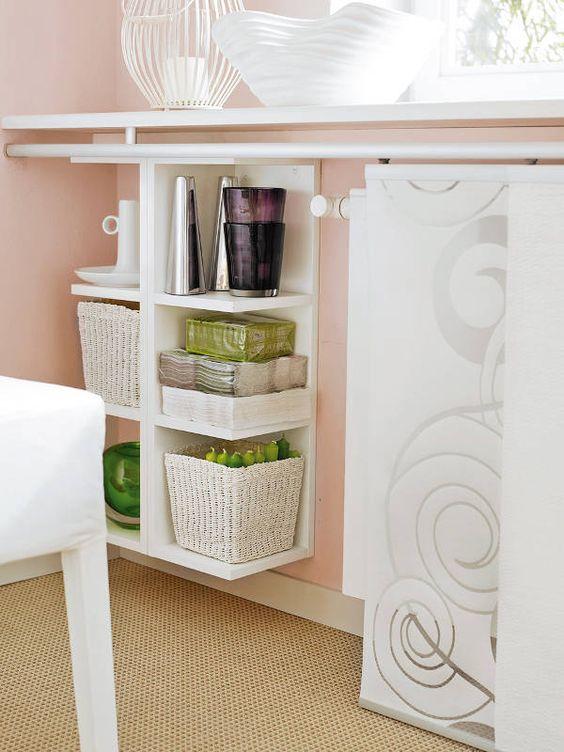 Multifunktionale möbel im esszimmer   einrichten zimmerservice ...