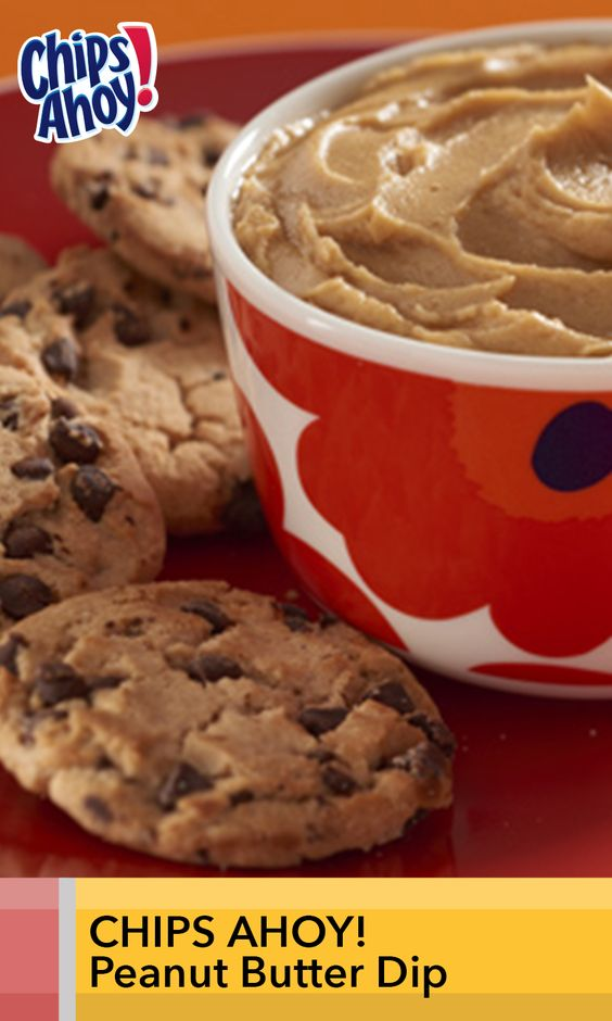 more peanut butter dip chips ahoy creamy peanut butter peanut butter ...