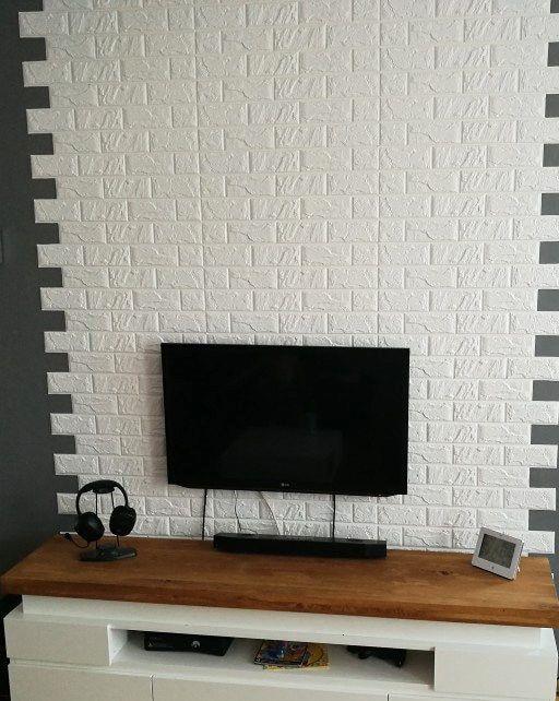 Online Shop New Diy 3d Brick Pe Foam Wallpaper Panels Room Decal Stone Decoration Embossed Self Adhesive Waterp Wallpaper Panels Room Decals Brick Accent Walls