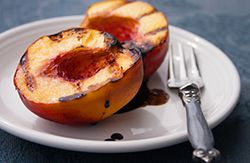Grilled Stone Fruits with Balsamic and Black Pepper Syrup from our ...