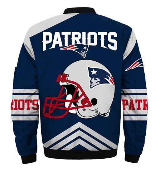 New England Patriots Bomber Jacket Style 4 Winter Coat Gift For Men Jack Sport Shop In 2020 New England Patriots Apparel New England Patriots New England Patriots Merchandise