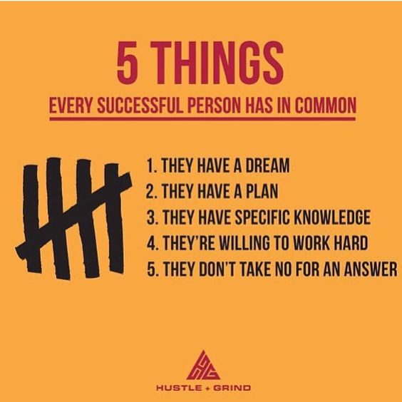 """Young Entrepreneur Magazine on Instagram: """"Great one from @hustlegrindco Do you have these things? Leave a comment below """""""