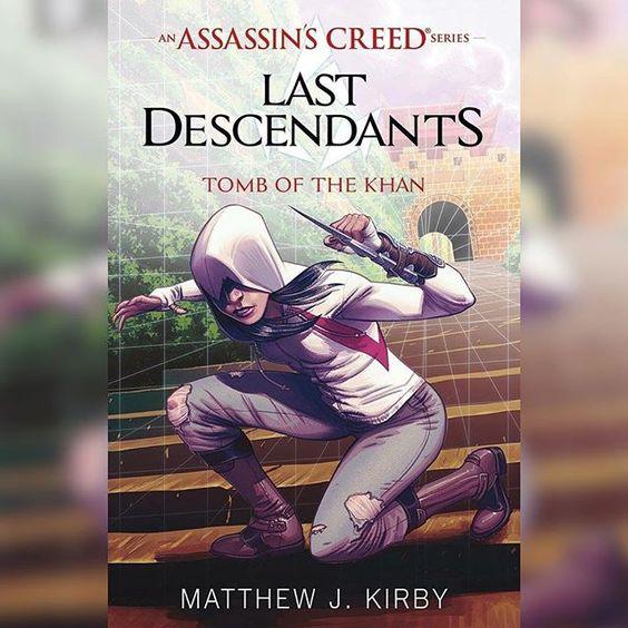 Amazon have revealed the cover of Assassin's Creed: Last Descendants - Tomb of the Khan.  #AssassinsCreed #LastDescendats #TombOfTheKhan #Ubisoft #TOWCB #CoverArt