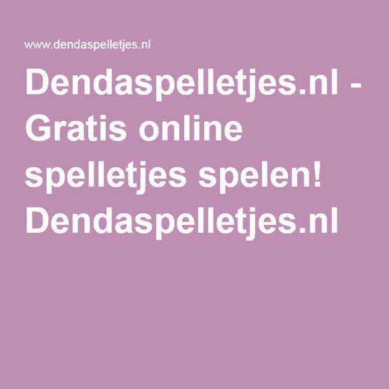 Dendaspelletjes.nl - Gratis online spelletjes spelen! Dendaspelletjes.nl