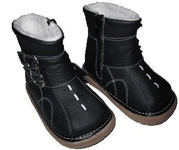 Next Steps Charcoal Boots