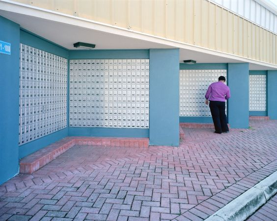 George Town, Grand Cayman. From The Heavens, Annual Report by Paolo Woods and Gabriele Galimberti. Documenting the banality of tax havens to the point of opened their own company and plan to publish their images as a faux annual report