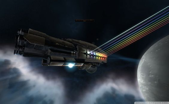 Spaceship HD Wallpaper