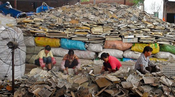 How China is disrupting the global recycling industry