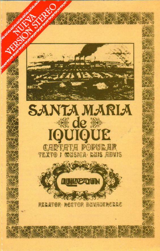 Quilapayún - Cantata de Sta María de Iquique