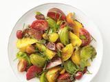 Tomato Salad Recipe: Recipe Food, Salad Recipes, Network Kitchens, Salad Food, Recipes Salads, Healthy Food, Favorite Recipes, Kitchens Recipes, Heirloom Tomatoes