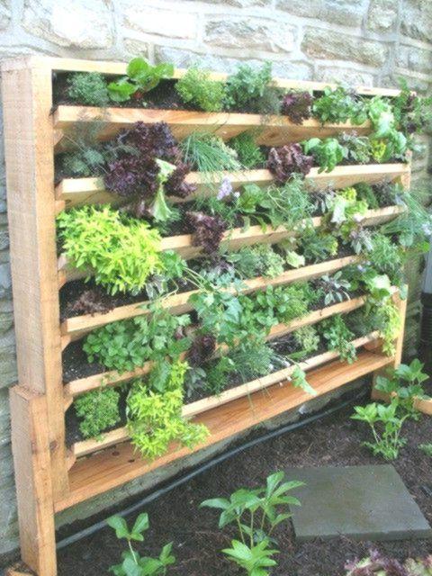 20 Ausgezeichnete Diy Beispiele Wie Man Schonen Vertikalen Garten Bildet Aus Vertical Vegetable Garden Design Vertical Vegetable Garden Vertical Herb Garden