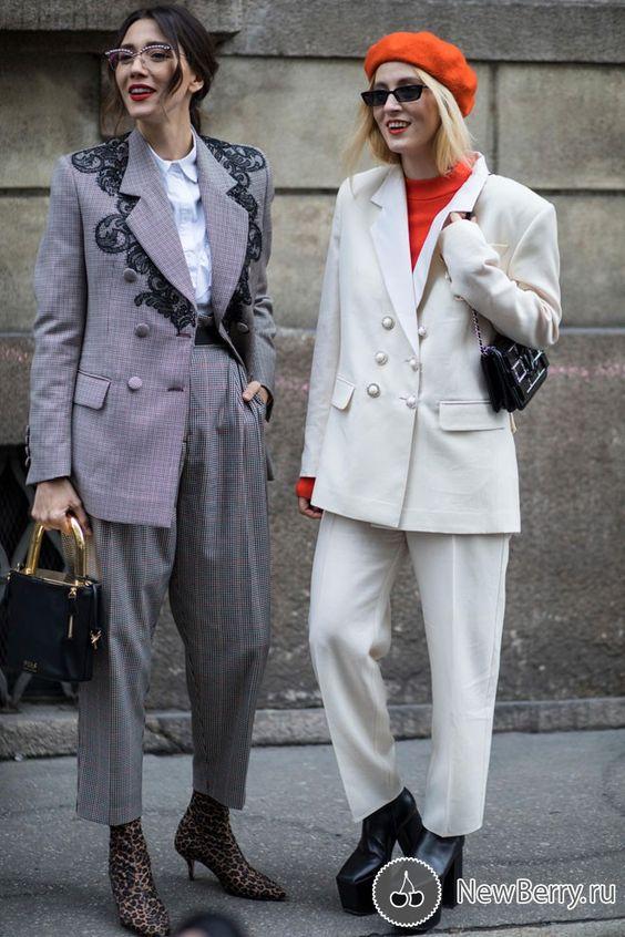 Street style на неделе моды в Милане осень-зима 2018-2019